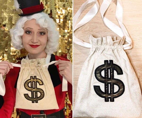How to Make a Drawstring Moneybag Purse