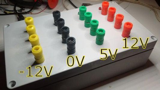 Modular Synthesiser Power Supply