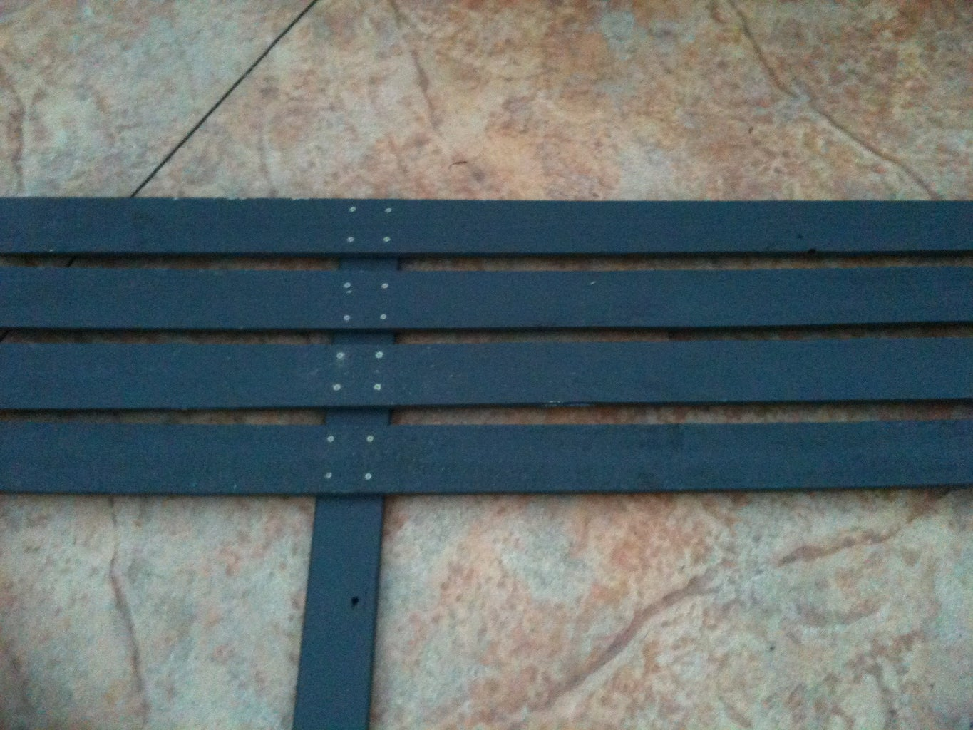 Attaching Rails to Backing Posts
