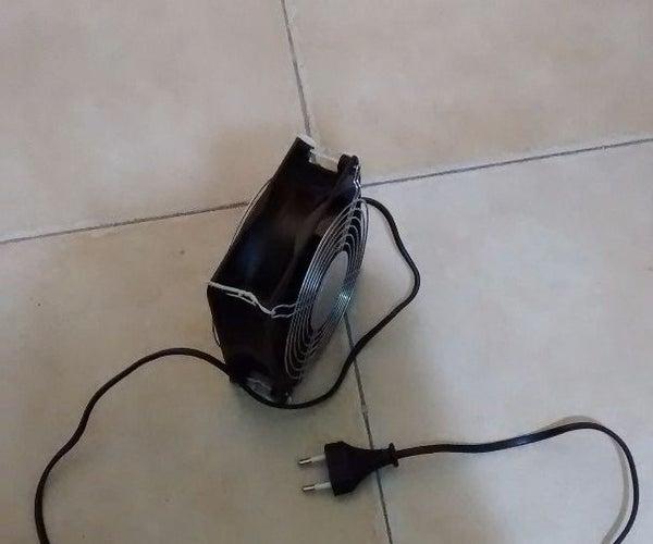 DIY Fan From a Transformer