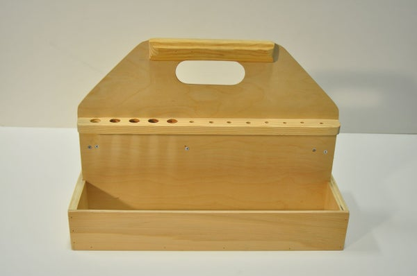 Simple Wood Toolbox