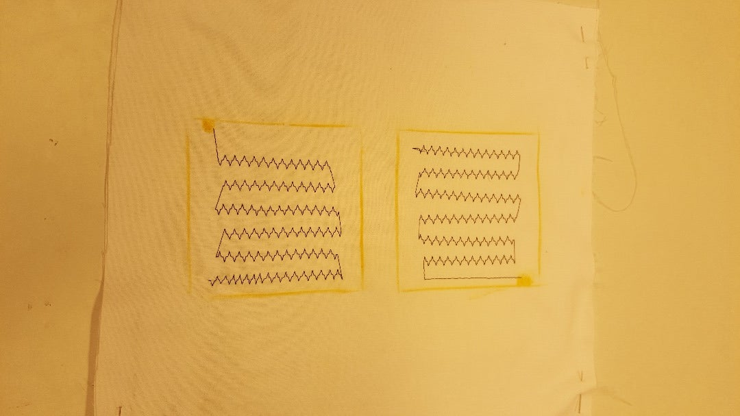 Sewing the Conductive Thread