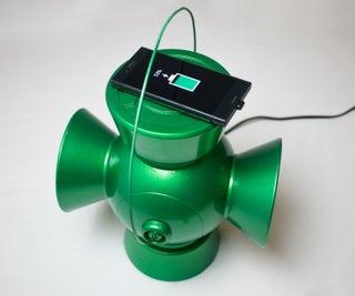 齐绿灯笼充电器