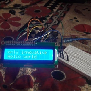 Arduino Interfacing With LCD Without Potentiometer