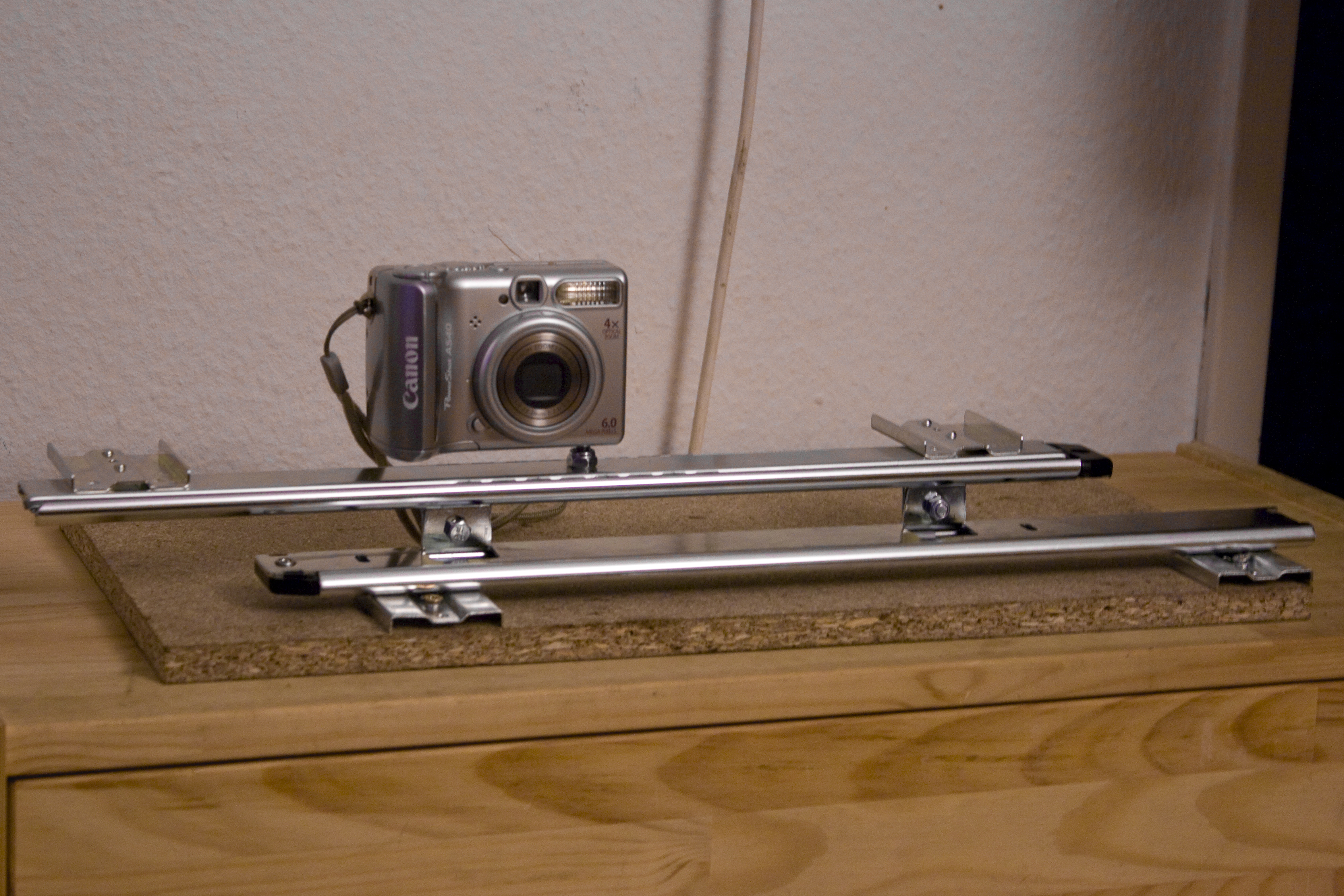 How to build a glidetrack camera mount