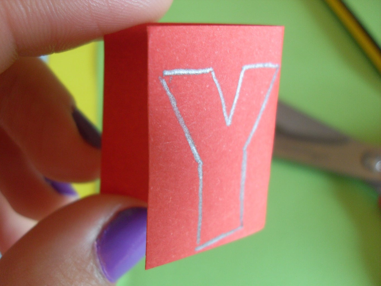 Make Letters Easy Peasy!
