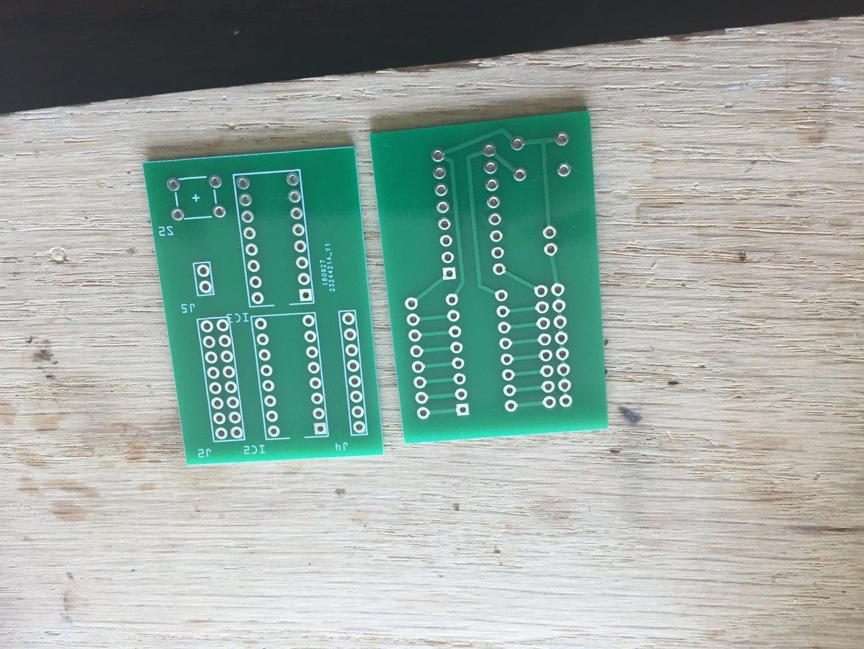 Assembling Button Consoles
