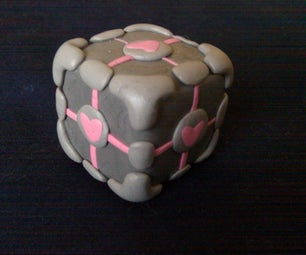 Portable Weighted Companion Cube