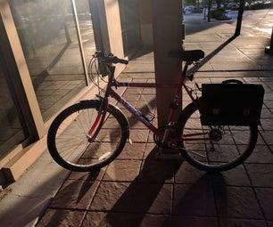 A Retro Bicycle Saddlebag
