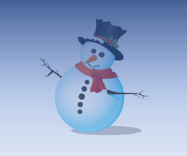 Karton: Draw a Snowman