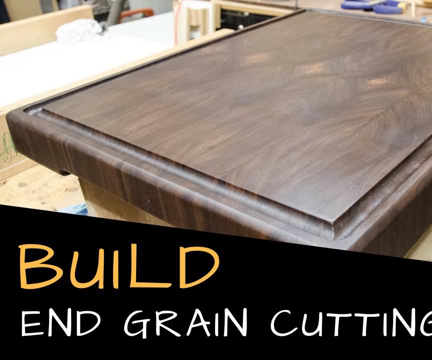 End Grain Cutting Board | a DIY Tutorial
