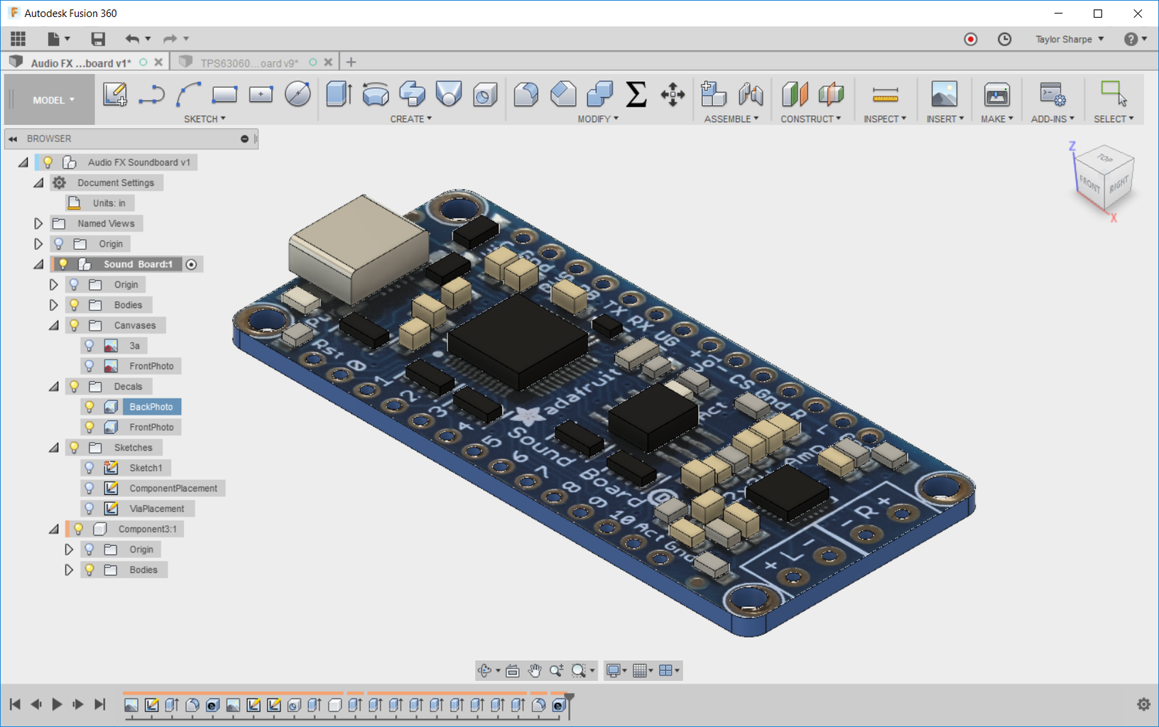 Use the Photos As Decals to Improve the PCB's Appearance