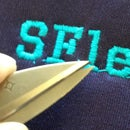 CNC Embroidery Printing SF and SFlettering With Only The Menu