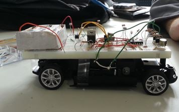 Laser Pointer Controlled RC Car