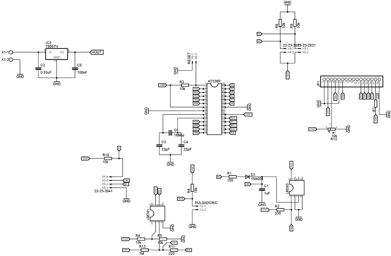 Circuit, Schematic and Pcb