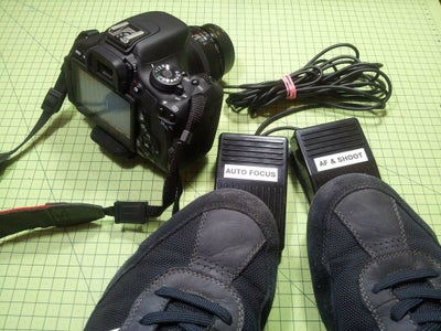 Hands-Free Shooting With DSLR Foot Pedals