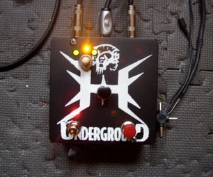 Stereo Amplifier Pedal