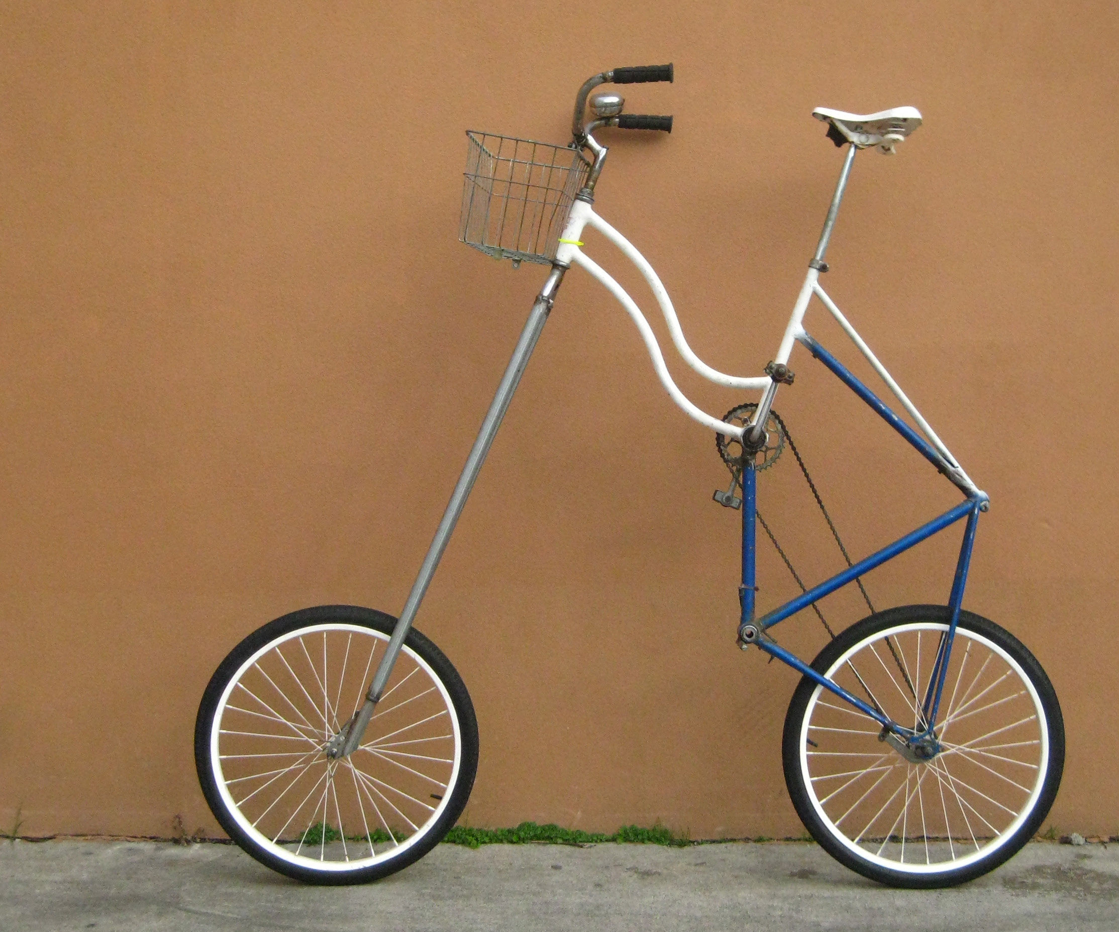 "How to make a ""high-rider"" Tall Bike"