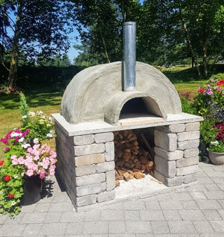 Outdoor Pizza Oven 12 Steps With Pictures Instructables