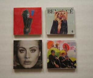 Album Cover Coasters