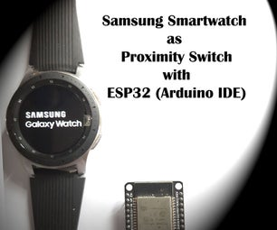 ESP32 Arduino Smartwatch Detector With Buzzer