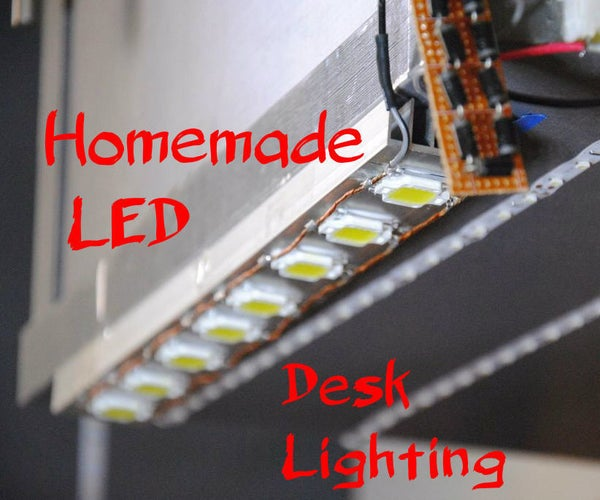 Make Your Own Dimmable LED Workshop Lighting!