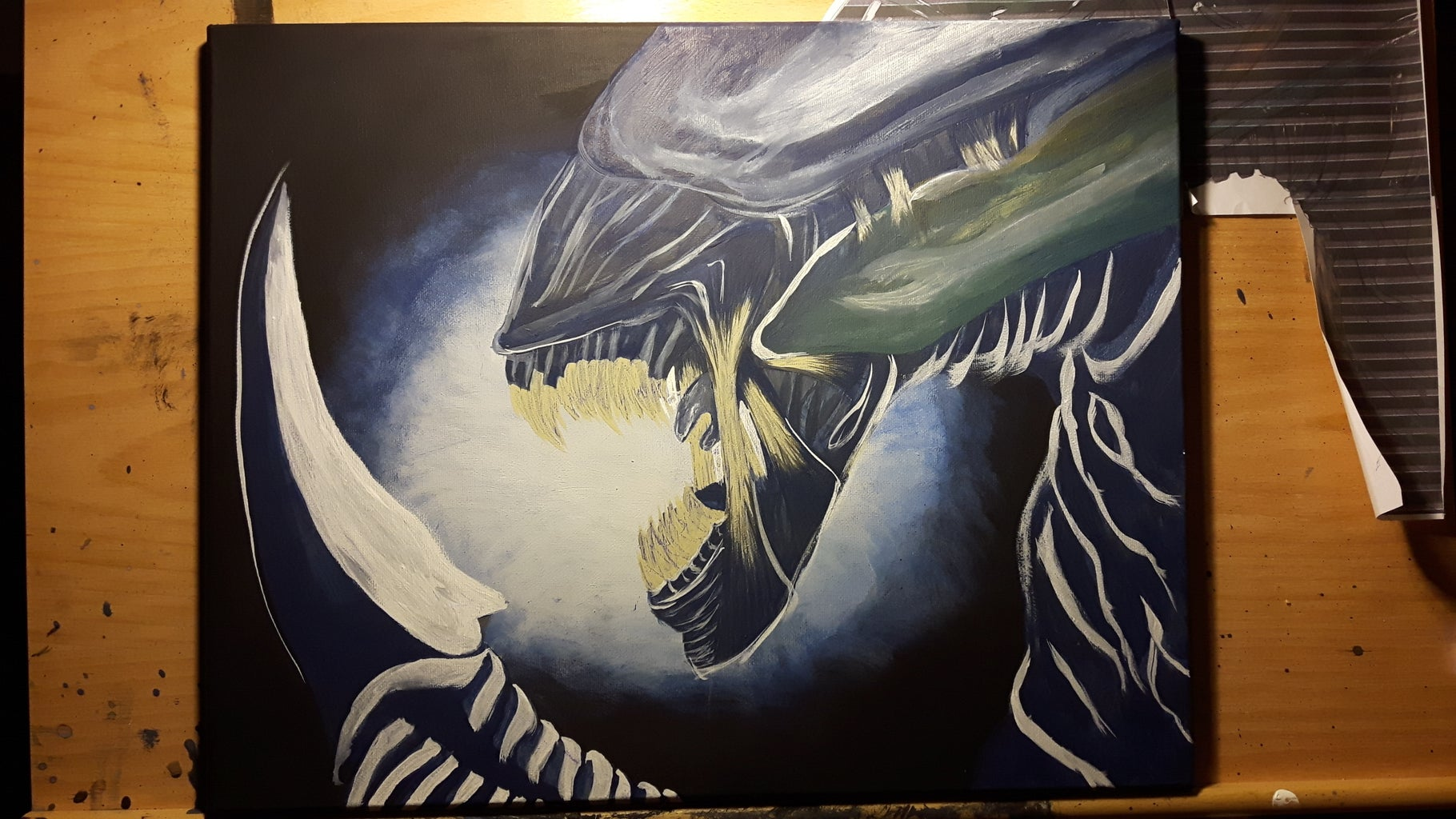 Add Some Unique Markings, Because Not All Xenomorphs Are the Same.