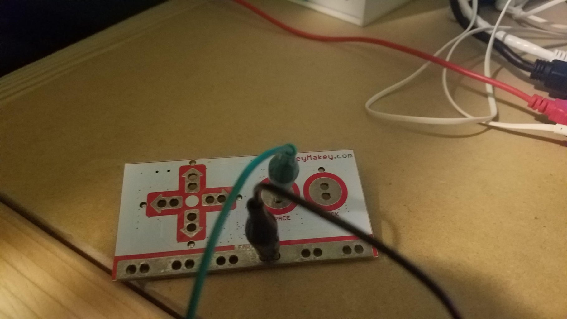 Connecting the Makey Makey to Your Computer and Your Cardboard Pad