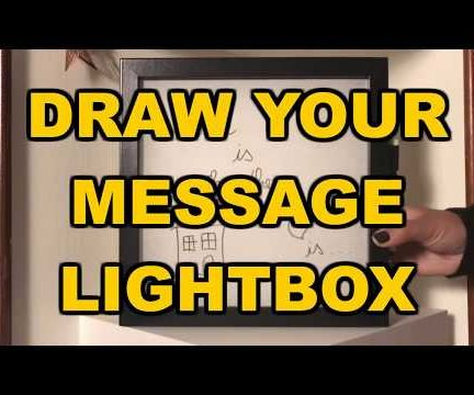 Draw Your Message LIGHTBOX