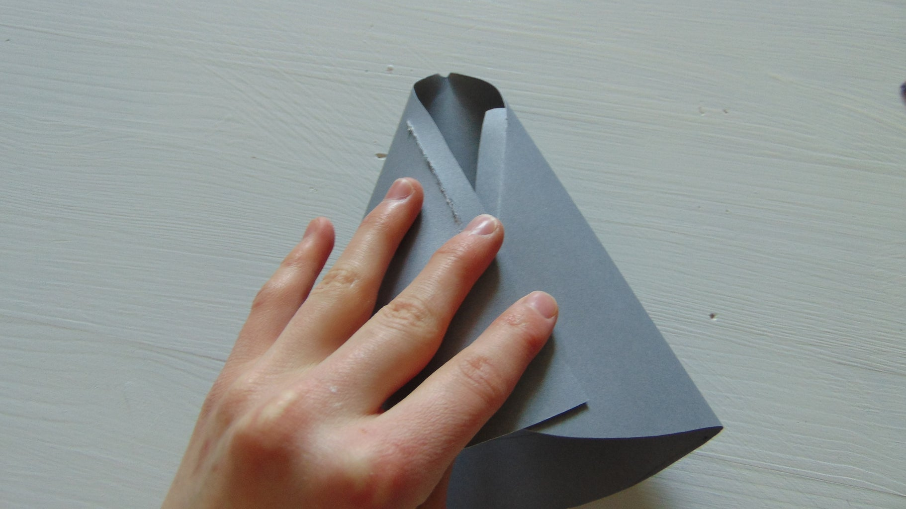 Assembling the Paper Hat