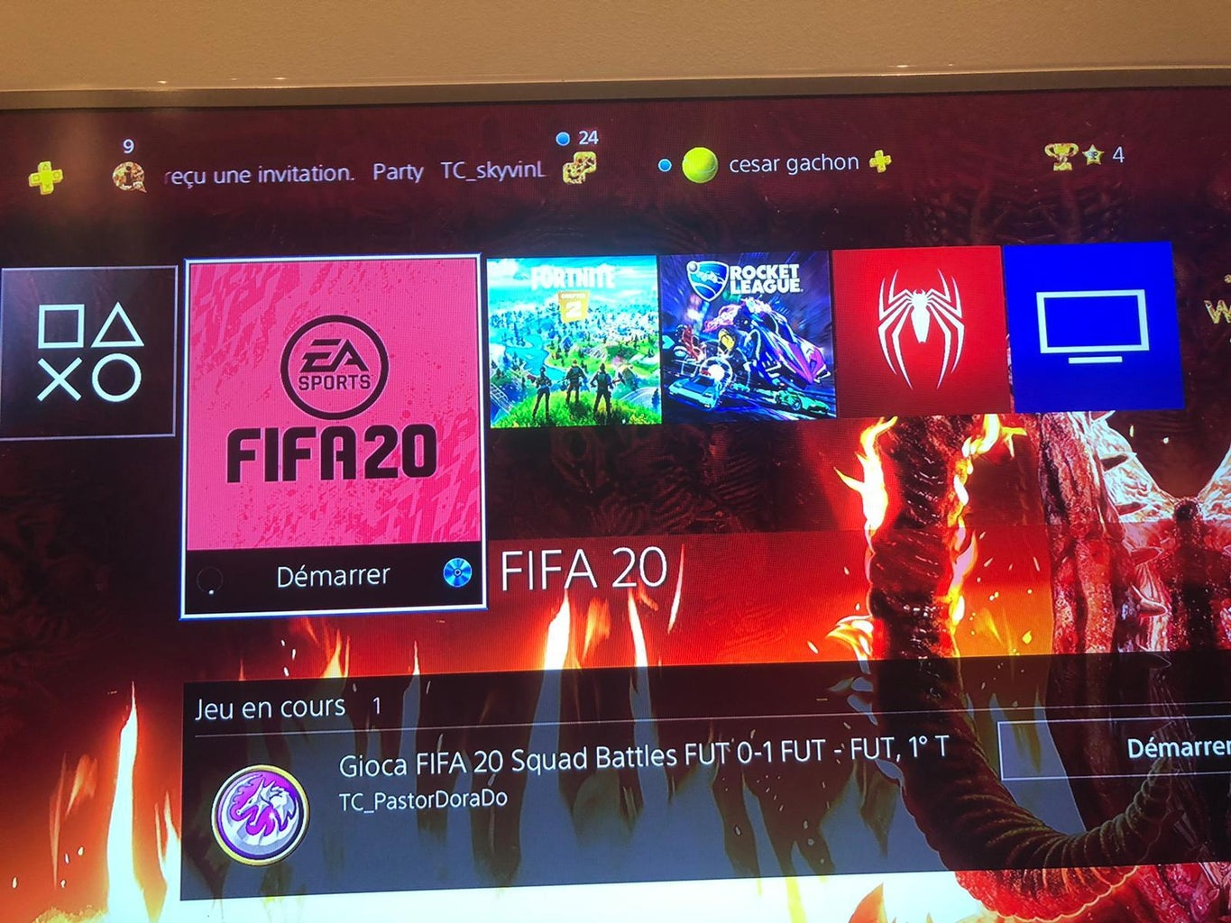 Log in Into FIFA 20