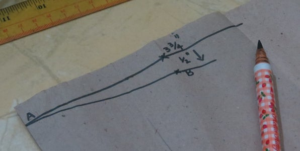 Draw a Sewing Block Pattern..
