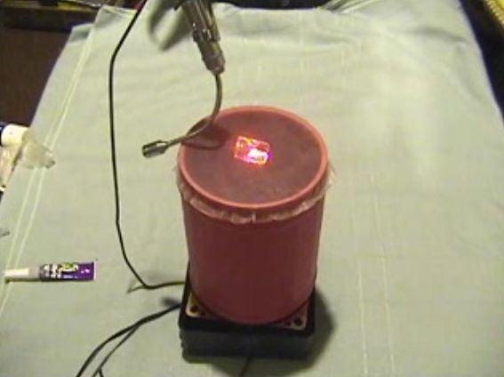 Music Driven Laser Pointer Lightshow