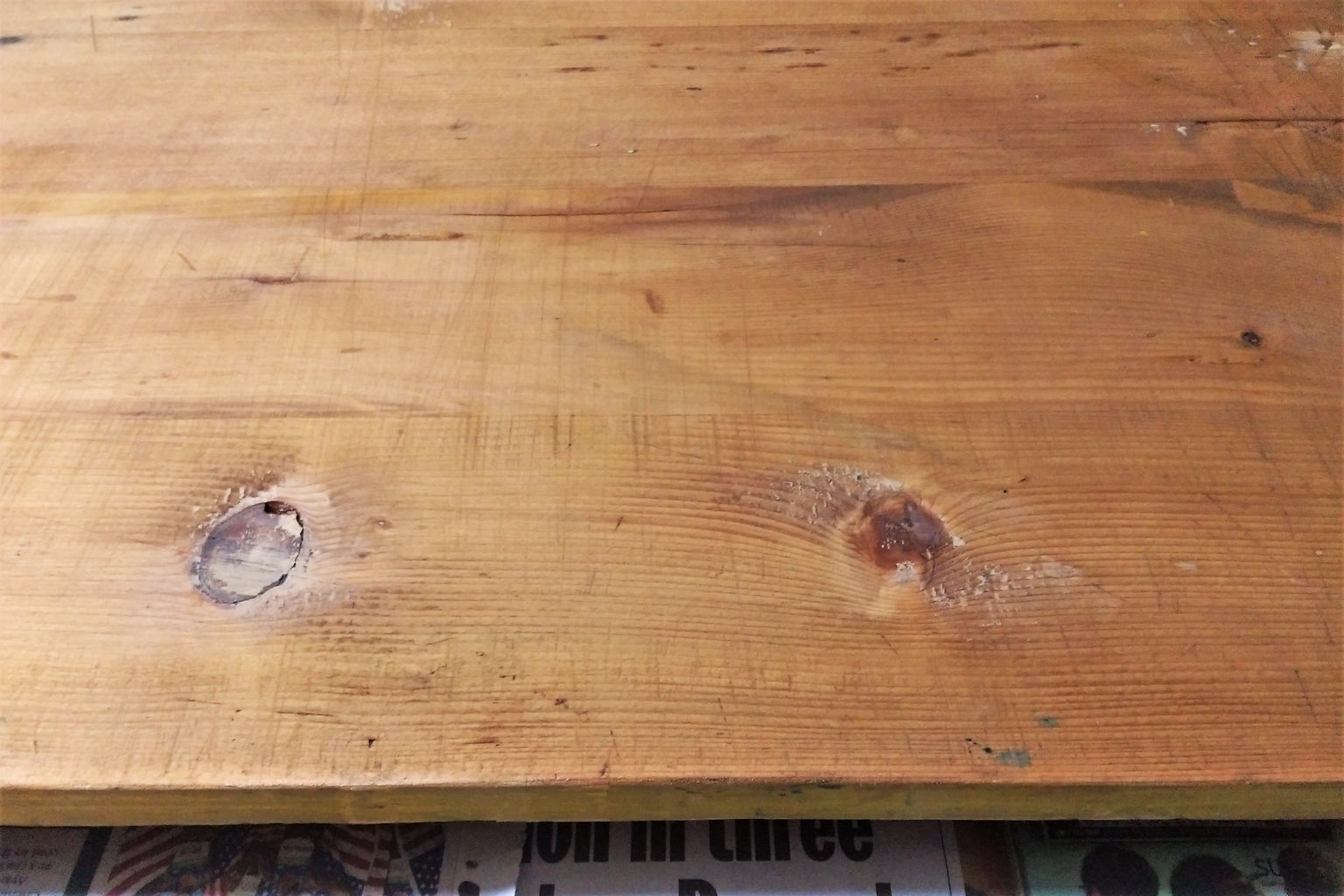Staining Wood