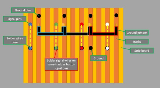 Button Panel - Signal Wiring