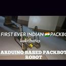 PACKBOT ROBOT ARDUINO BASED