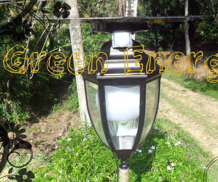 DIY Automatic Multi Usage Garden Lamp ( 12w High Power Lamp, USB Charger With PIR Motion Sensor)