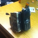 Cell Phone controlled remote airsoft grenade detonator