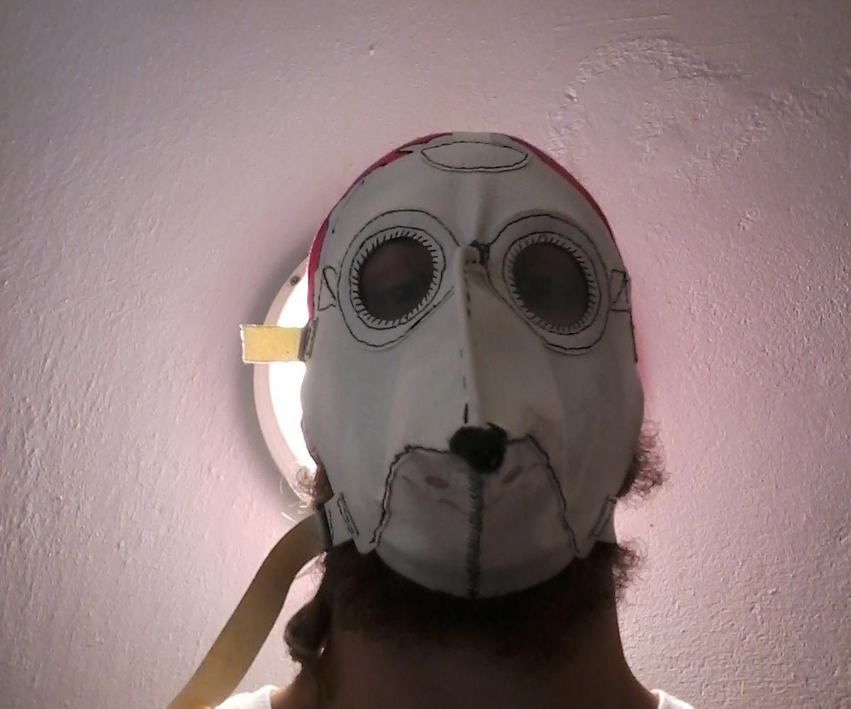"hand made ""Medico"" plague doctor mask"