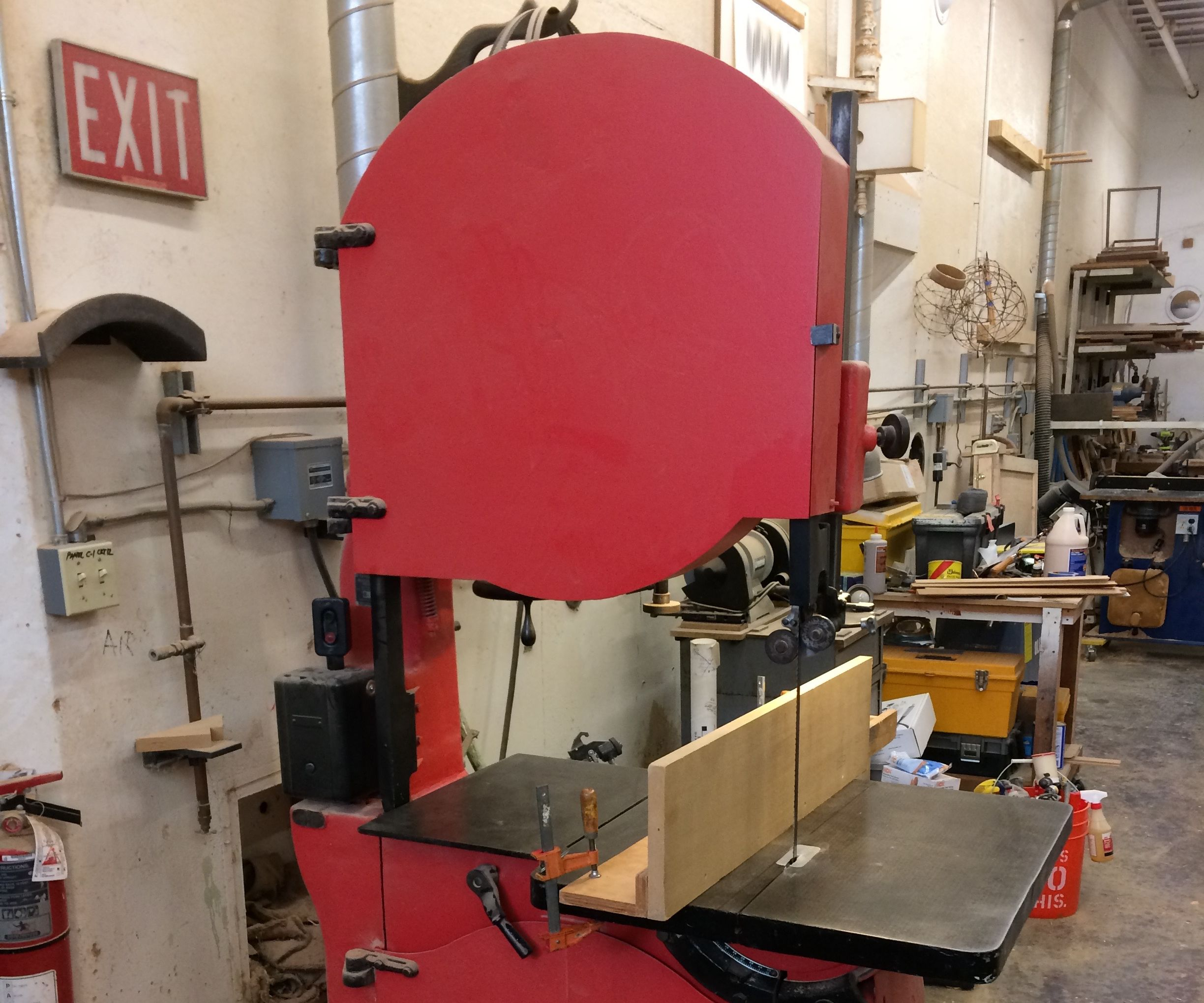 Get the Drift: Tuning the Bandsaw for Ripping Wood With a Fence.