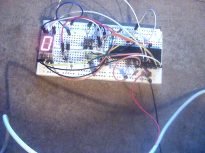 7 Segment LED Display With PIC Controller and Flowcode V5