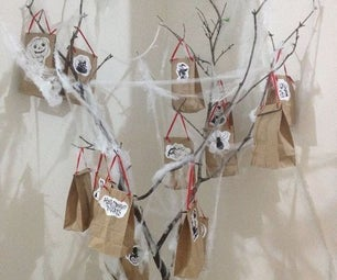 Spooky Tree - Gift Bags Holder