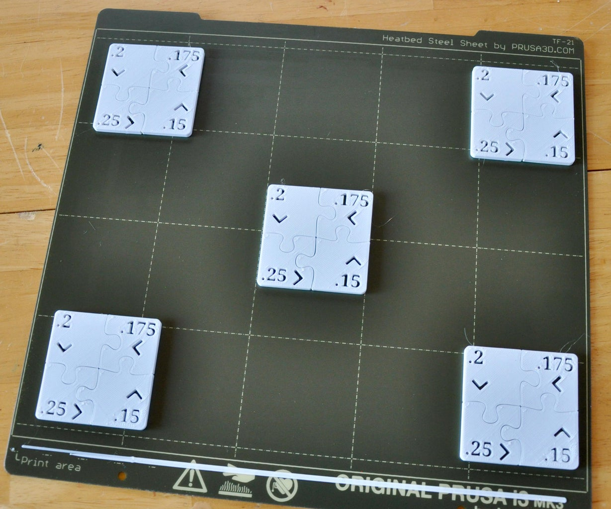 Puzzle Test Prints