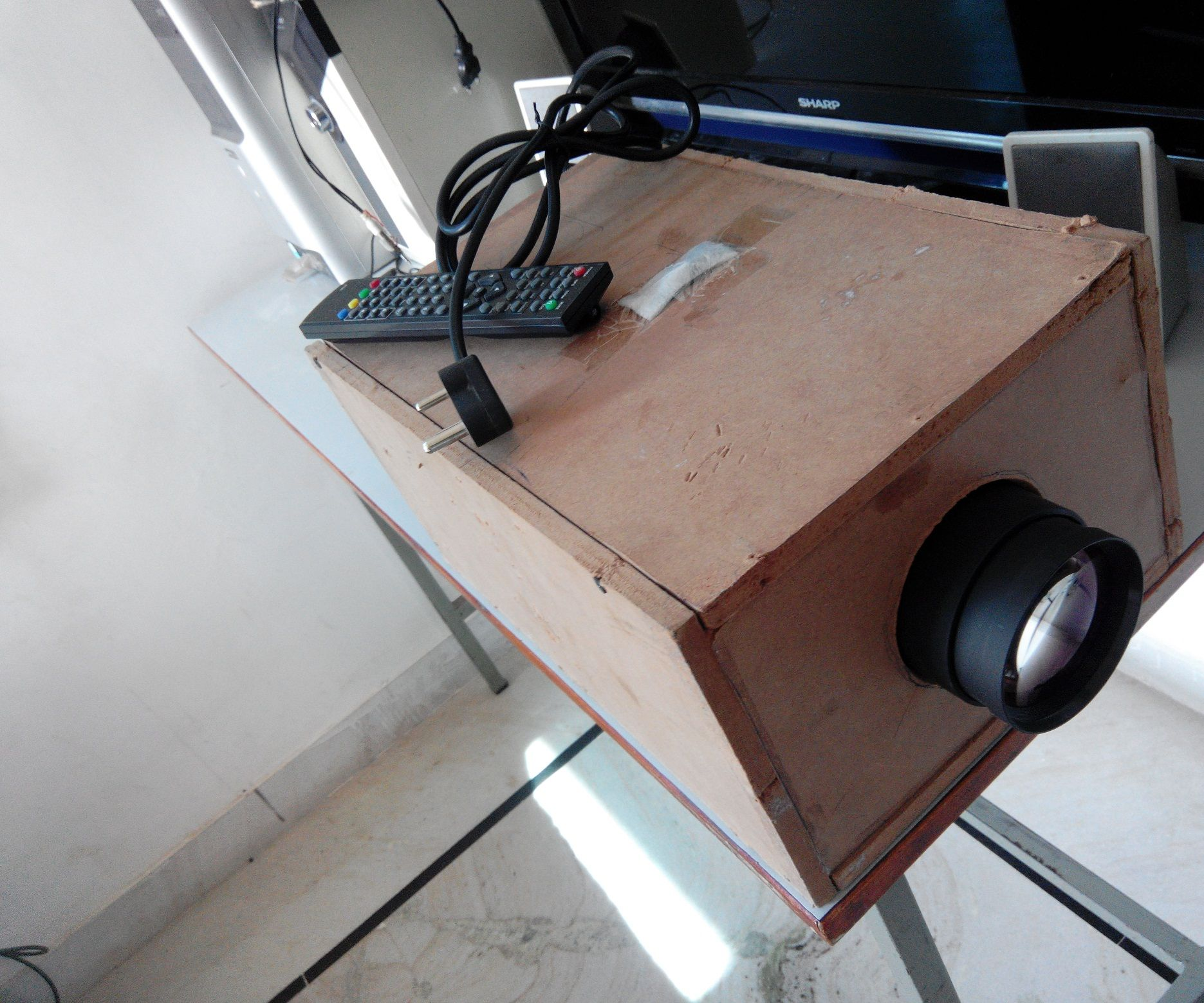 DIY LED Projector