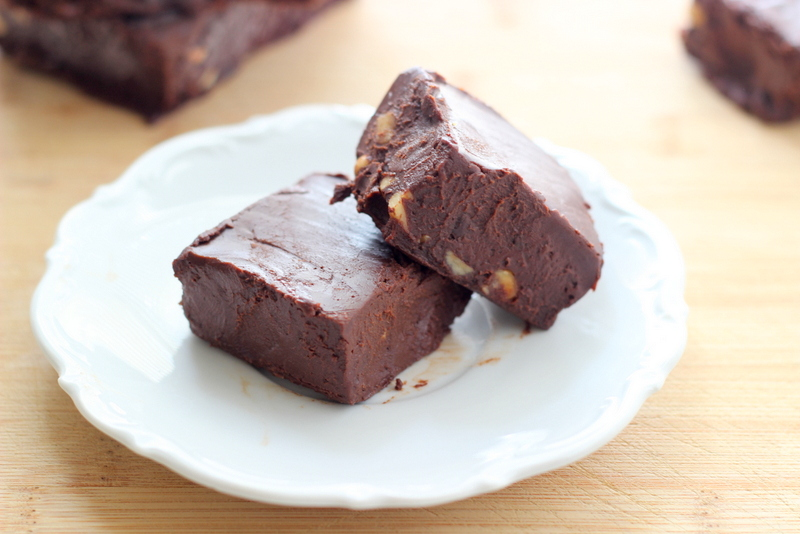 Chunky Chocolate Freezer Fudge (Dairy Free)