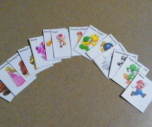 Mini Mario Player Cards