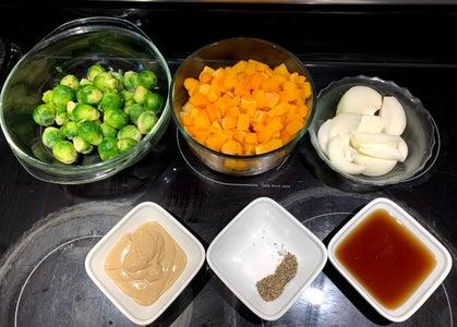 Prepare Ingredients and Season Chicken