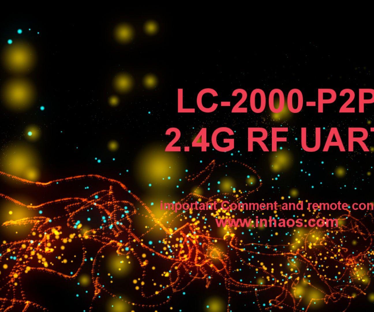 LC-2000(PA)-P2P Remote Control