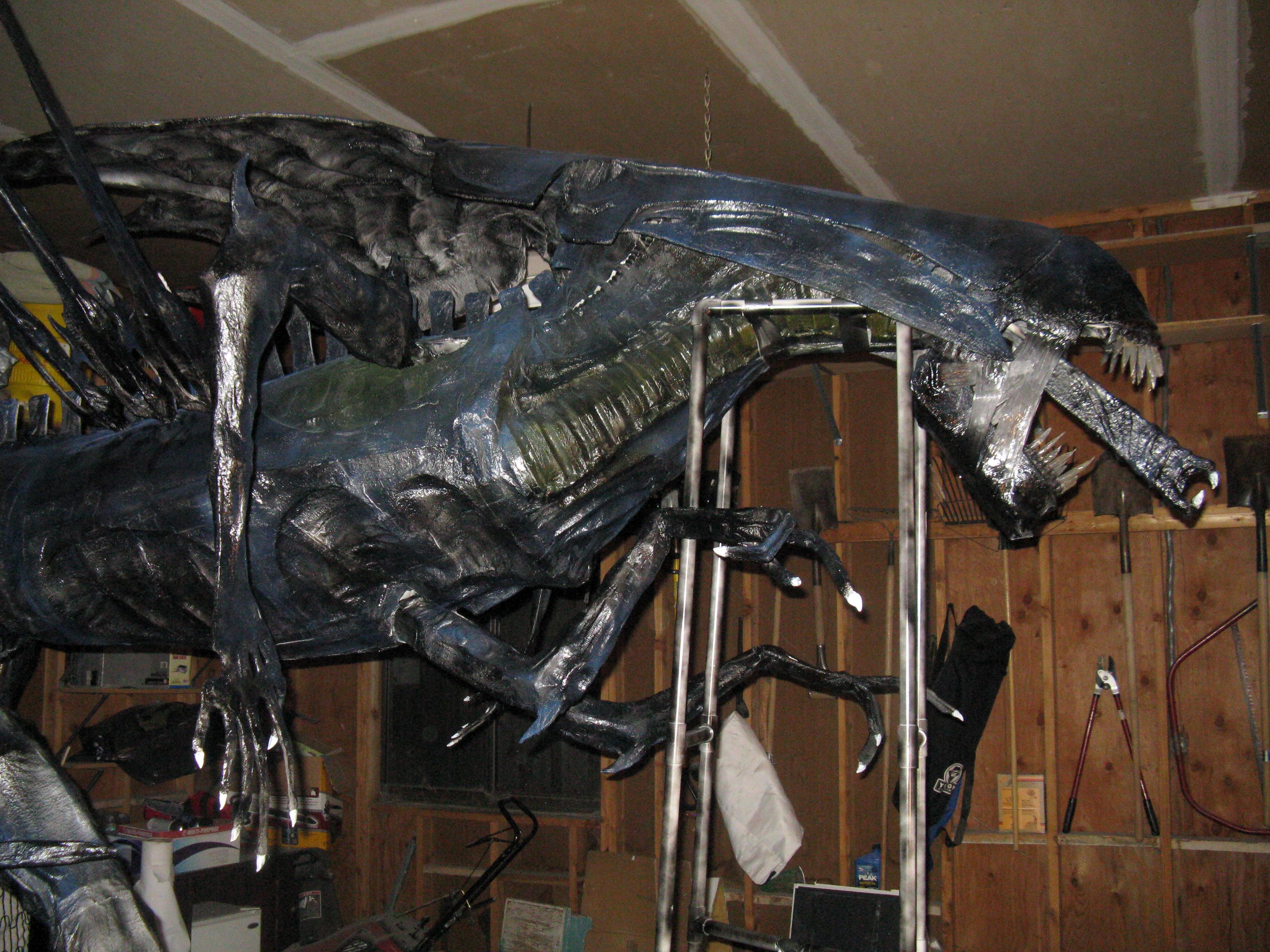 Life-Size Alien Queen Statue from Aliens