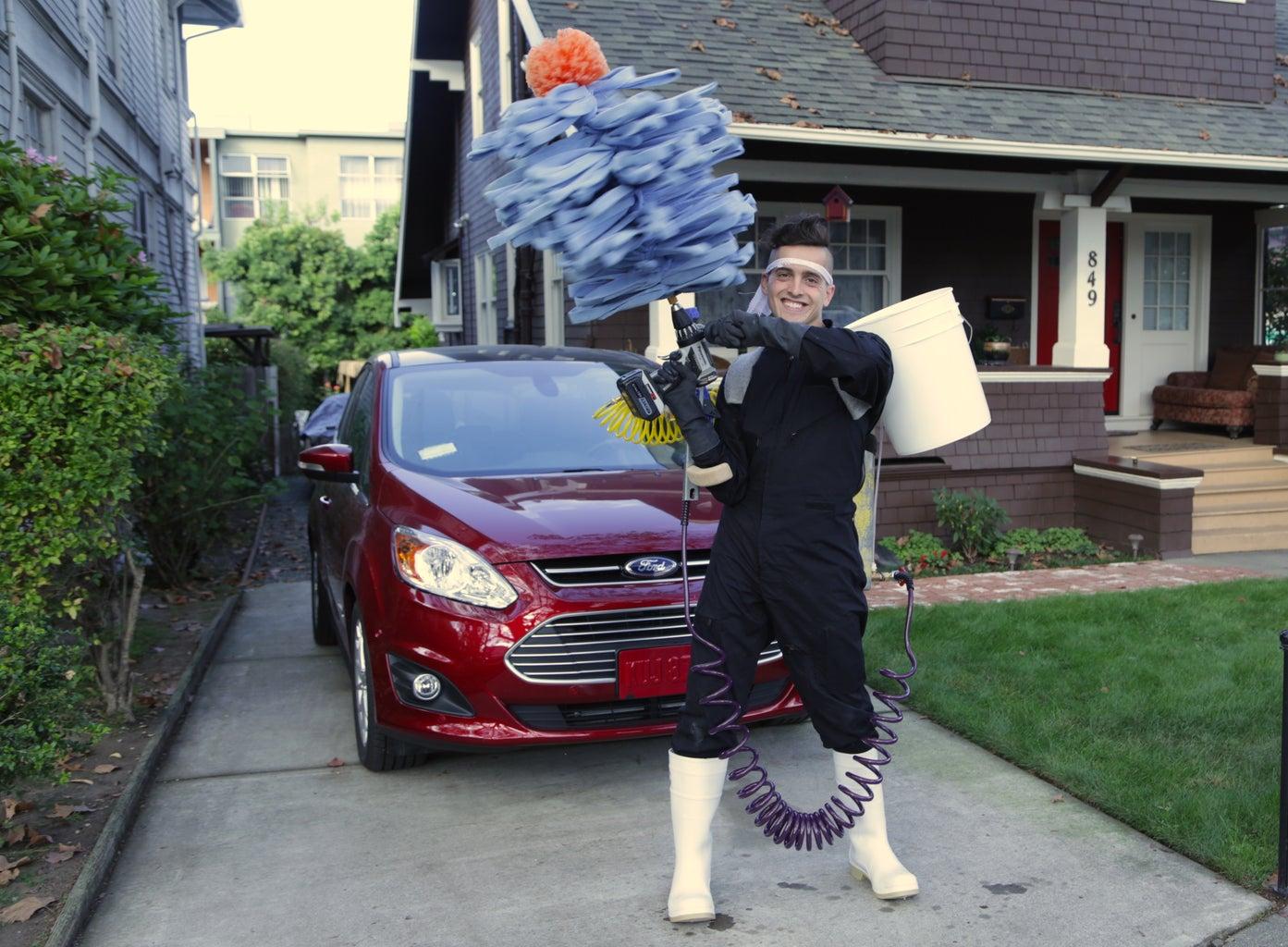 Handheld Car Wash